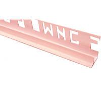 Уголок внутренний ОМиС 8 мм розовый