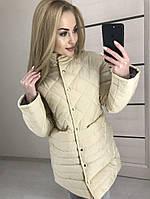 Пальто зимние на кнопках синтепон