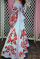 Дизайнерська сукня гладдю на стрейч атласі