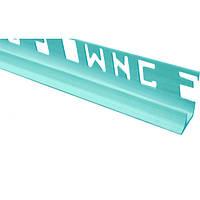 Уголок внутренний ОМиС 9 мм голубой