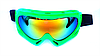Маска-очки горнолыжная SPARK, поликарбонат, зеленый (Spark-(grn))