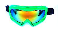 Маска-очки горнолыжная SPARK, поликарбонат, зеленый (Spark-(grn)), фото 1