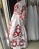 Дизайнерська сукня гладдю на стрейч атласі, фото 2
