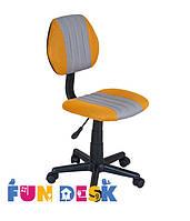 Детское компьютерное кресло ТМ FunDesk LST4 Yellow-Grey