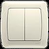 Выключатель CARMEN 2-й крем Код УКТ ЗЕД 8536508000