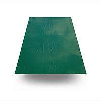 Гладкий лист 0,95х1,5м. RAL6005 (зел.)