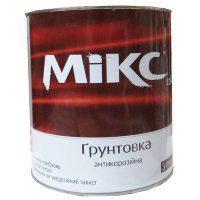 """Грунт ГФ-021 """"Miks"""" червоно-коричневий 2,8кг."""