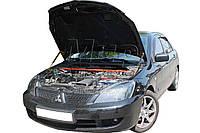 Газовый упор капота Mitsubishi Lancer 9 (2у) (2004-2010) (2 шт)