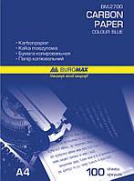 Бумага копировальная А4, синяя, 210*297 мм, Buromax, BM.2700, 4002817