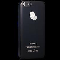 Чехол-накладка Ozaki O!coat Fruit Blackberry for iPhone SE/5/5S (OC537BL)