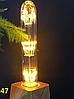 Светодиодная лампа Эдисона 3Вт T30х185  E27 DIP