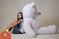 Двухметровая плюшевая игрушка Медведь Белый 200 см