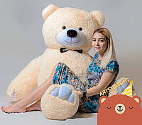 Двухметровая плюшевая игрушка Медведь Бежевый 200 см