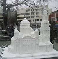 Храм из мрамора в миниатюре №17