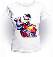 Футболка женская GeekLand Железный Человек Iron Man рука art IM.01.002
