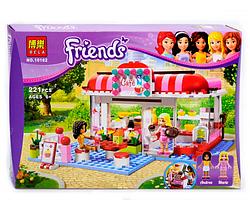 """Конструктор BELA FRIENDS """"Кафе в городском парке"""", 221 деталей.Детская игра конструктор.Детский конструктор."""