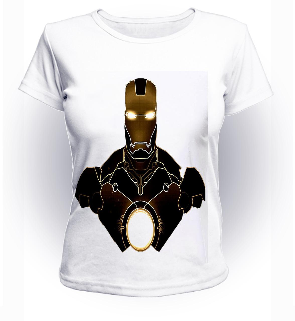 Футболка женская GeekLand Железный Человек Iron Man art IM.01.069