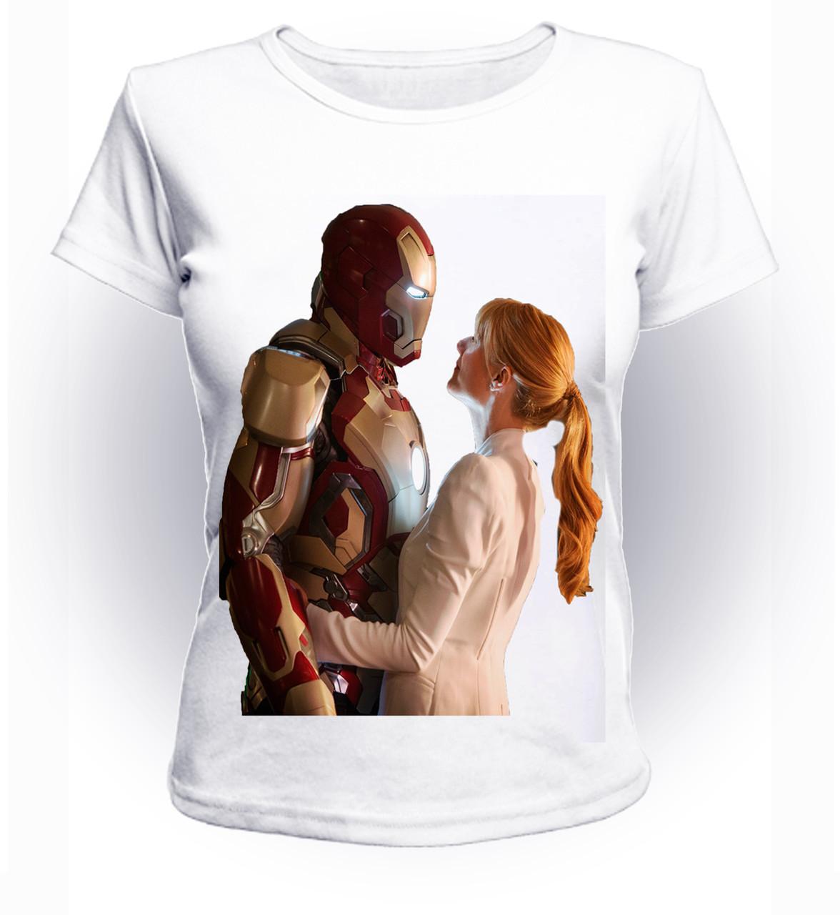 Футболка женская GeekLand Железный Человек Iron Man Пеппер Поттс art IM.01.071