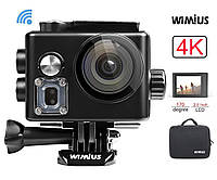 WIMIUS Экшн камера Sports Action Camera 4k Wifi Ultra HD