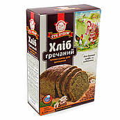 Смесь для выпечки Хлеб Гречневый, Сто Пудов, 506 гр
