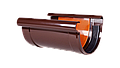 З'єднувач ринви Profil  90 коричневий