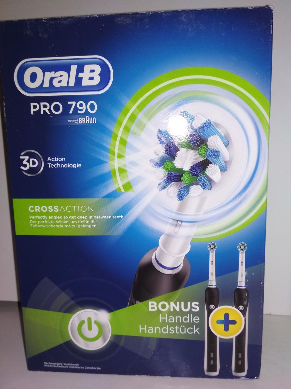 Зубна електрощітка Braun Oral-B PRO 790  продажа f061d08e374c6