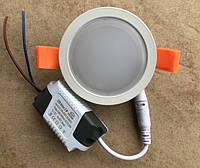 Светодиодный декоративный светильник RIGHT HAUSEN Ring 5W 4000K белый Код.58852