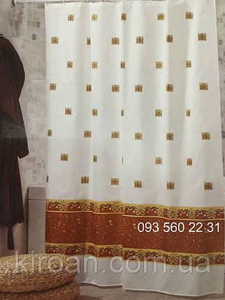 """Тканевая штора для ванной Миранда """"Antique"""", фото 2"""