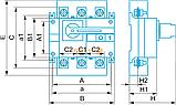 Выключатель нагрузки ВН-1000 Electro, фото 2