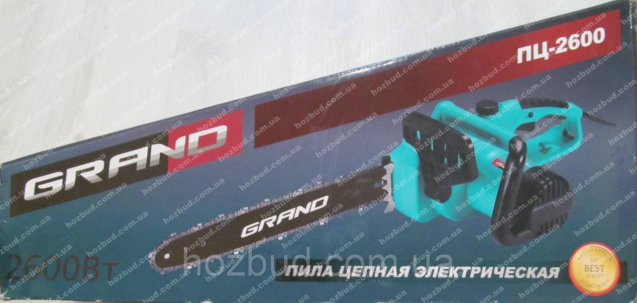 Электропила GRAND ПЦ-2600