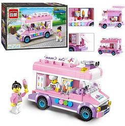 """Детский конструктор """"Brick"""" 213  деталей.Детская игрушка конструктор.Игрушки для девочек."""