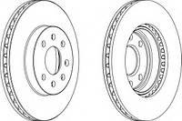 Тормозной диск Ferodo NUBIRA 1,6-2,0I 97-00