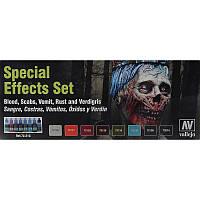 Набор красок Game color специальные эфекты, 8 шт (код 200-298162)