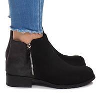 Модные женские ботинки на молние