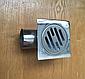 Трап металлический хромированный 10х10 см (50 мм), Турция, фото 2