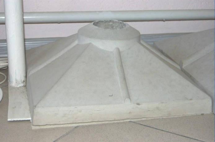 Крышка конусная 420 х 420 под шар