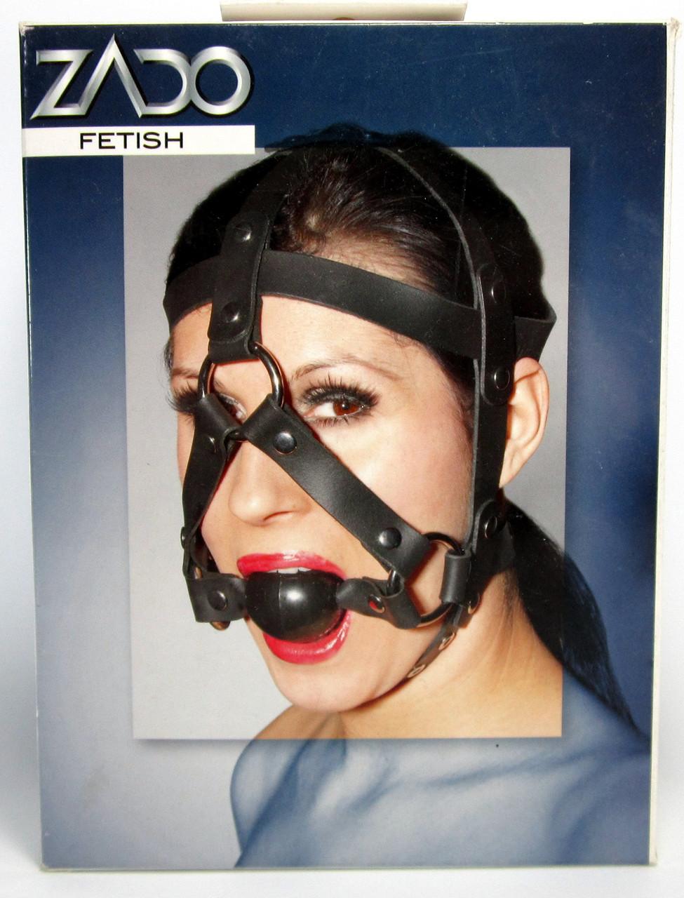 Кляп-маска ZADO распродажа