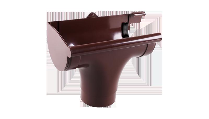 Лійка ліва L Profil 130 коричнева