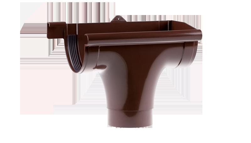 Лійка P права Profil 90 коричнева