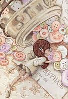 Набор для вышивания М.П. Студия НВ-564 Маленькая швея