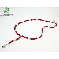Эксклюзивное ожерелье из коралла и жемчуга