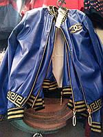 Курточка для девочки с экокожи