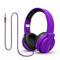 Навушники накладні з мікрофоном Promate Encore Purple