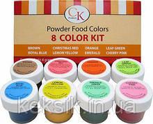 CKProducts Набор кондитерских красок 8 шт