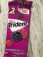 Жевательная резинка набор Trident ожина и малина
