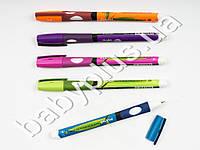 Ручка масляная PIANO RIGHT тренажер для правши, цвет чернил СИНИЙ, толщина письма 0,5мм (цена за 1шт)