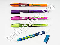 Ручка масляная PIANO LEFT тренажер для левши, цвет чернил СИНИЙ, толщина письма 0,5мм (цена за 1шт)