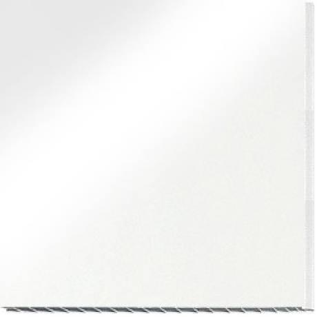 Панель ПВХ (100х8х6000) 12 перег., белая (Сумы)