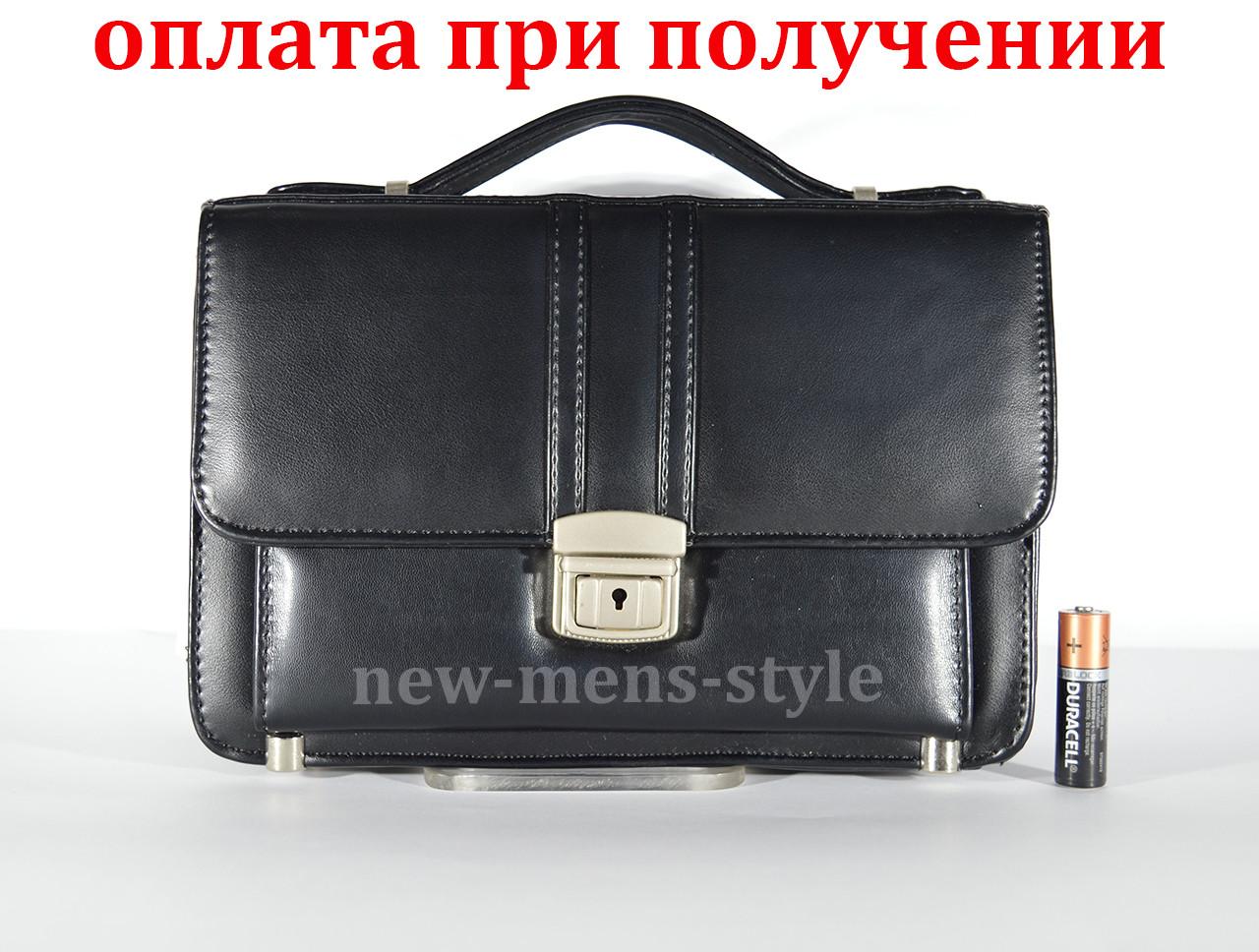 Мужская кожаная сумка барсетка кошелек портмоне клатч под Jeep Polo