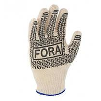 Перчатки DOLONI (15000) Fora трикотажные белые с р